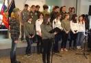 Kulturni del podelitve priznanj so popestrili učenci in učenke 9. razreda OŠ Cerkno